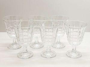 Conjunto Com 06 Taças Para Água De Vidro Sodo-Cálcico Belle Mare 250ml - 57636