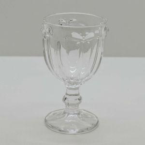 Conjunto De Taças Libélula De Vidro Transparente - 58197