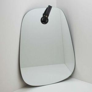 Espelho Com Detalhe Em Couro 33x42cm - 58277