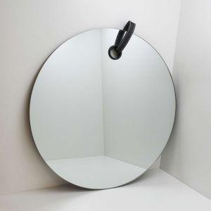 Espelho Com Detalhe Em Couro 47,5cm - 58276