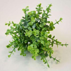 Folhagem Plástica Com 06 Eucalipto Verde - 57422