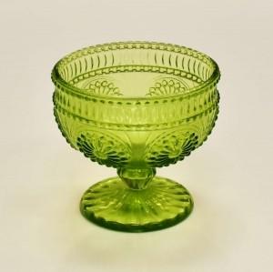 Jogo 4 Taças de Sobremesa Aubusson 290ml Verde 10789