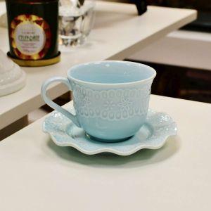 Jogo de Louça para Chá Candy Colors  - 31 Peças Azul