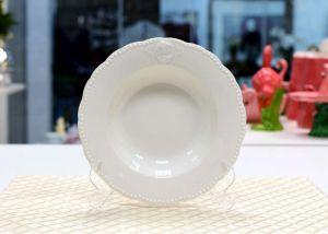 Kit 6 Pratos de sopa em Porcelana