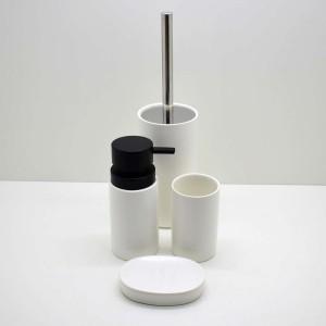* Kit Banheiro Porcelana Branco 4 Peças - 58946