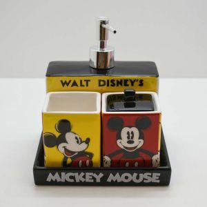 Kit Para Banheiro Infantil 04 Peças Mickey Mouse - 58572