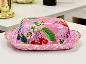 Manteigueira Hummingbirds Rosa Pip Studio - 56534