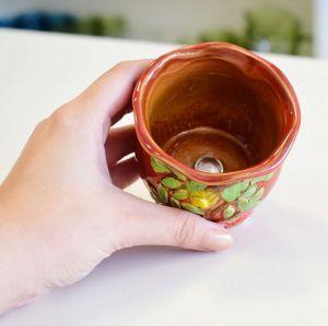 Mini Vaso Árvore Vermelha - 57160