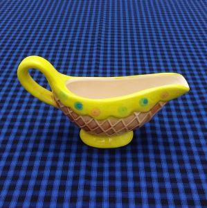 Molheira Sorvete Cupcake  Amarelo - 52989