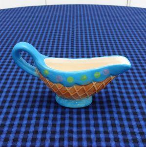 Molheira Sorvete Cupcake Azul - 52989
