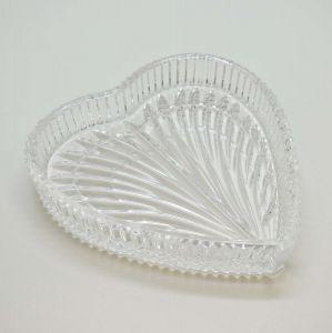 Petisqueira De Cristal Coração Heart - 57624