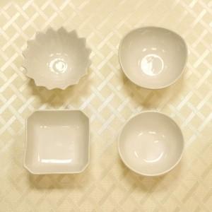 Petisqueira De Porcelana Diversos Formatos - 55268