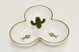 Petisqueira em Cerâmica Cactus - Ref. 55261