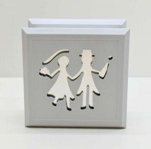 Porta Joias Casamento Grande Branco - 57581
