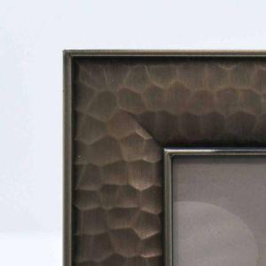 Porta Retrato 10x15cm Em Metal Cinza - 58344