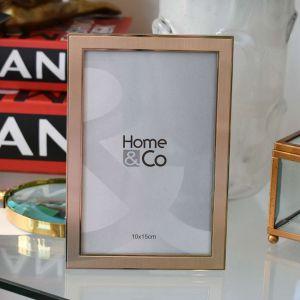 Porta Retrato 10x15cm Luzon Alumínio Dourado ? 58345