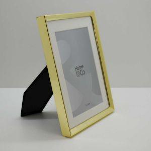 Porta Retrato 13x18cm Dourado Em Metal Cenario - 58347