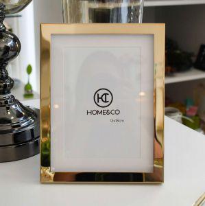 Porta Retrato 13x18cm Dourado Em Metal Doherty - 58340
