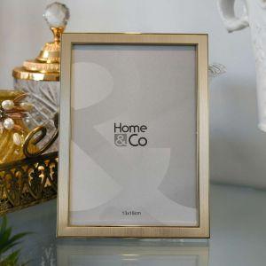Porta Retrato 13x18cm Dourado Luzon Alumínio - 58346