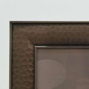 Porta Retrato 13x18cm Em Metal Cinza - 58343