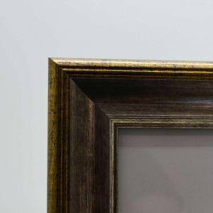 Porta Retrato 13x18cm Plástico Cobre - 58338