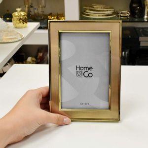 Porta Retrato Alumínio 10x15cm Champagne - 56939