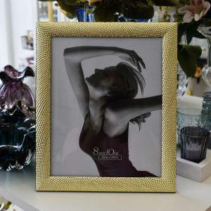Porta Retrato De Aço Hope Dourado 20x25cm - 57334