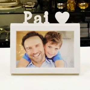 Porta Retrato De Plástico Pai 10x15cm - 56574