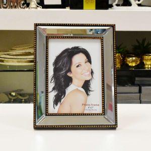 Porta Retrato De Plástico Top Espelhado 13x18cm - 55636