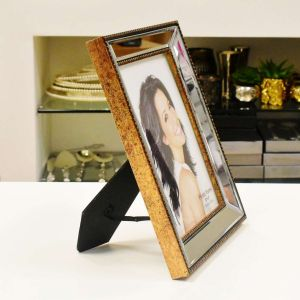 Porta Retrato De Plástico Top Espelhado 15x20cm - 57000