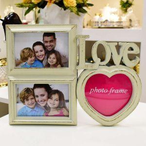 Porta Retrato Love Branco - 56809
