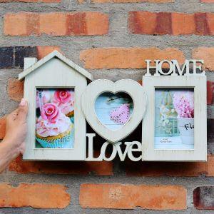 Porta Retrato Love Home Branco - 56808