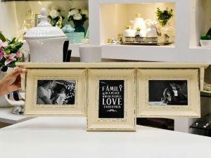 Porta Retrato Triplo Branco - 56442