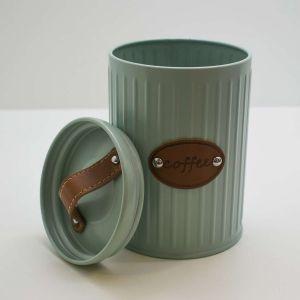 Pote Lata Para Café Verde Retrô - 58555