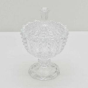 Potiche Decorativo De Cristal Bolhas - 57628