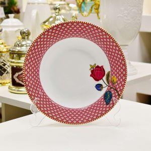 Prato de Sopa Bloomingtales Rosa Floral Fantasy Pip Studio - 54934