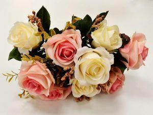 Ramalhete De Rosas Champanhe Com Rosê - 56563