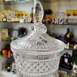 Suqueira Dispenser De Cristal Com Torneira Prata Persa 2 Litros - 57313