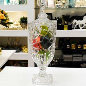 Suqueira Dispenser De Cristal Emerald 3L - 56966