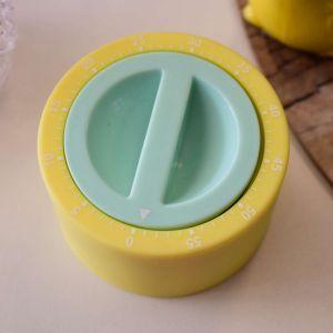 Timer Temporizador Amarelo Com Verde - 56267