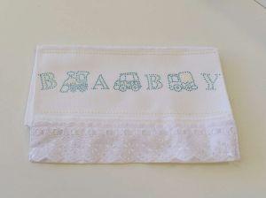 Toalha Para Lavabo Kids Branco Baby - 57088