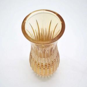 * Vaso de Cristal Queen Ambar - 58978