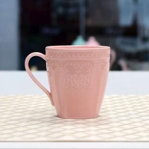 Xícara Para Chá 200ml Rosa Linha Heart - 55038