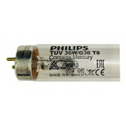 Lâmpada Germicida 36W T8 - TUV36T8 - 1200mm PHILIPS