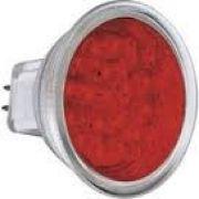 Lâmpada LED MR16 1,2W 127V 18 Leds GU5,3