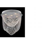 Plafon LIGHT 30cm cromo 3Xdicroicas Llum DL510403PF
