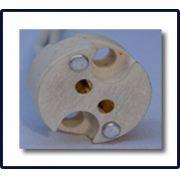 Soquete para Lâmpara Dicroíca tipo mica com 15cm