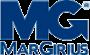 Caixa de sobrepor 75 x 50 x 75mm 1 posto  Para Interruptores e Tomadas Sleek branca PA018643 Margirius Sistema x modelo x  modular