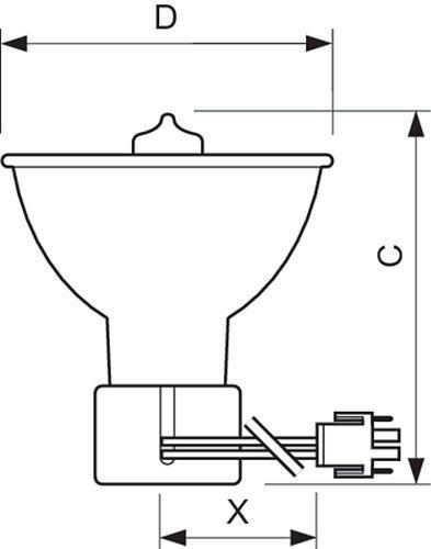 Lâmpada CDM-SA/R 150W/942