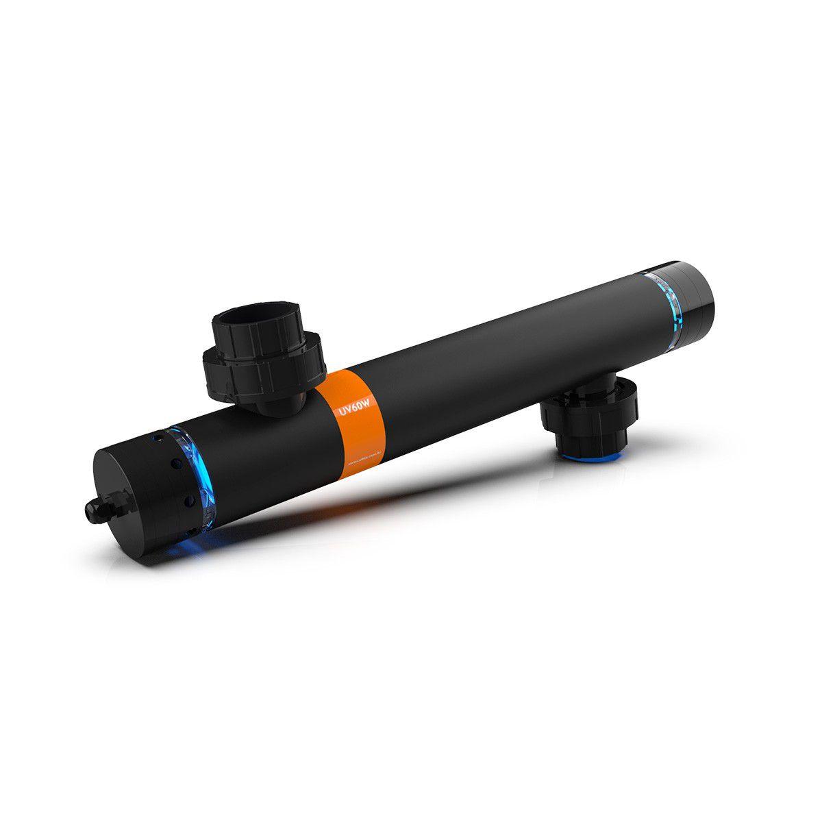 Filtro UV 36W 50mm, Filtro Esterilizador UV-C  36W P/ Lagos 10.000 litros